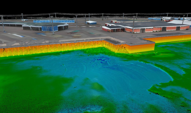 hydrographic 3d data