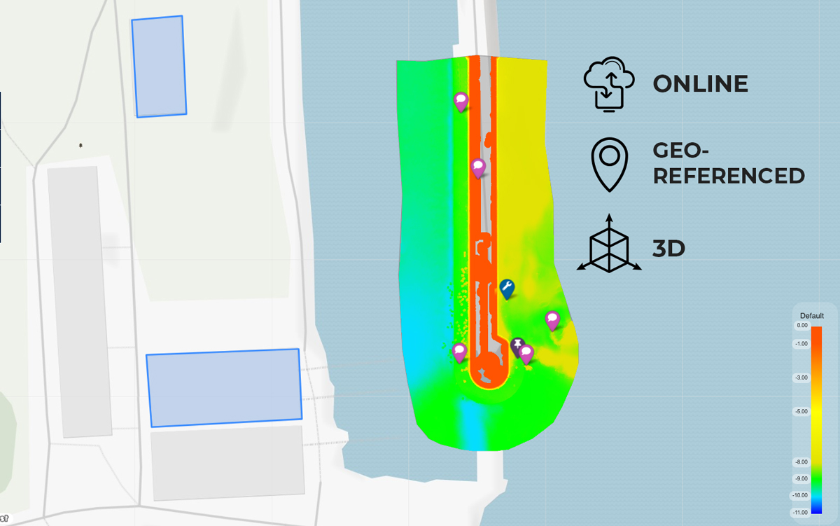 How to Easily Share Hydrographic Survey Data?