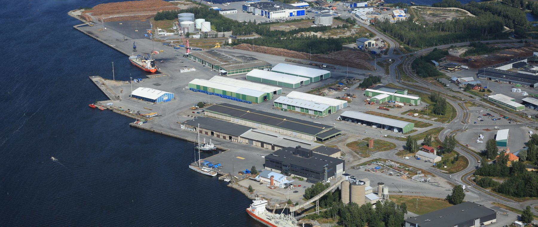 Case Study: How Port of Pietarsaari Benefits from Building a Digital Twin in GISGRO Cloud Platform