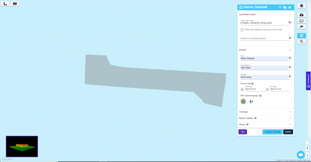 dataset information