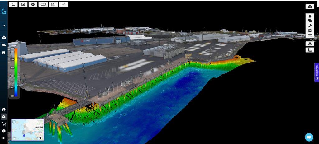 Port of Uusikaupunki digital twin